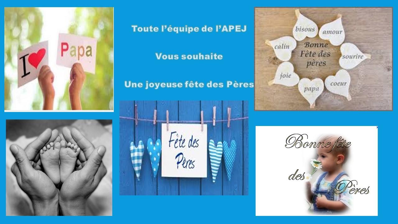 Apej association des parents d 39 el ves de jouarre calendrier de nos - Fetes des peres 2014 ...